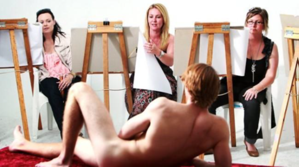Turns! Nude art classes in leeds consider, what